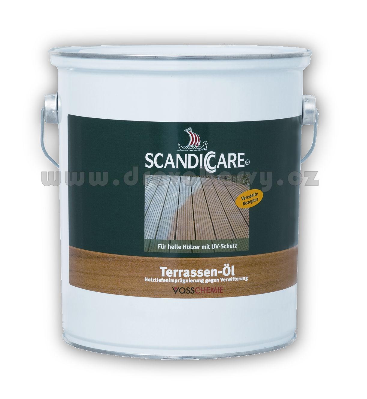 1 l Scandiccare terasový olej (TERRASSEN-ÖL) - AKCE
