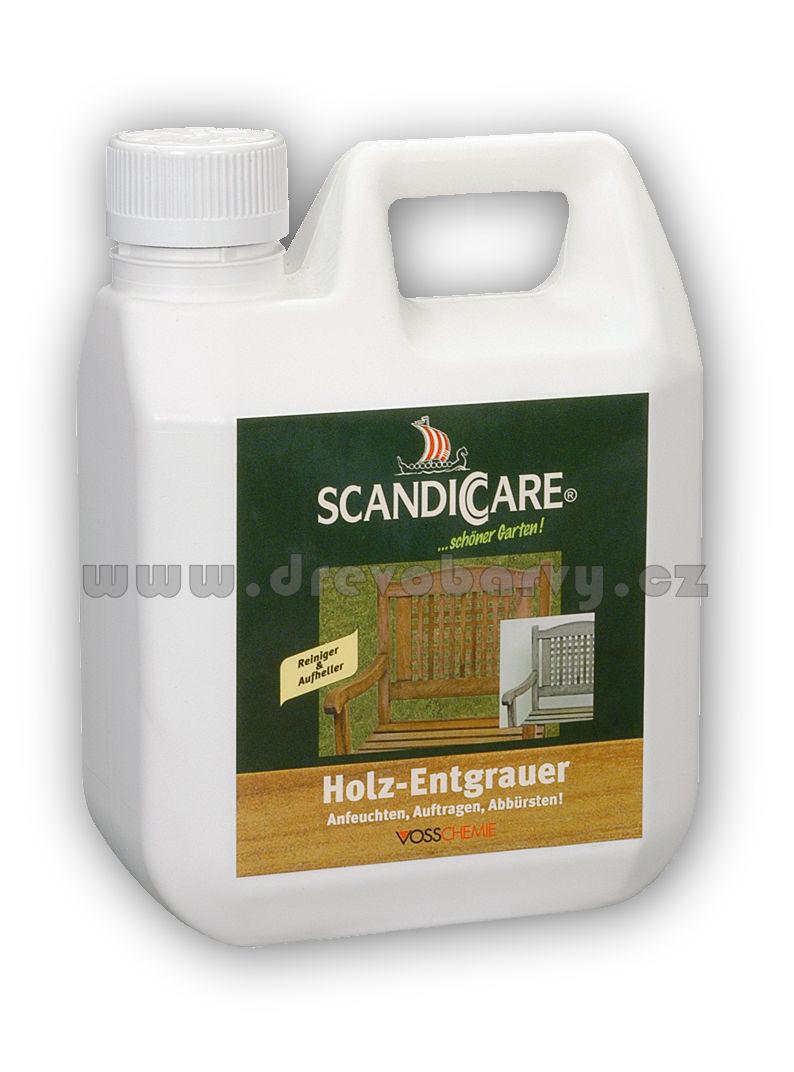 1 l Scandiccare Čistič dřeva (SC HOLZ-ENTGRAUER)