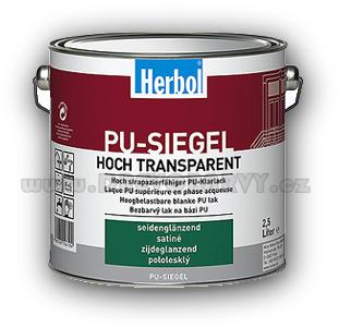 0,75 l Herbol PU - Siegel - lak (lesk, polomat)