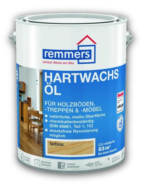 0,75 l Remmers Hartwachs-Öl - ořech, vosk