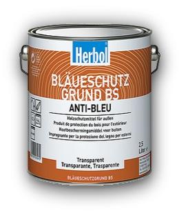 Fotografie 2,5 l Herbol Bläueschutzgrund BS - impregnace