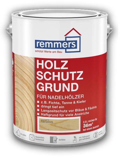 2,5 l Remmers Holzschutz Grund - impregnace dřeva