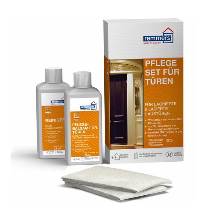 250 ml Remmers Sada pro čištění a údržbu dveří (PFLEGESET für Türen)