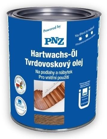 Fotografie 2,5 l PNZ Tvrdovoskový olej (Hartwachs -Öl) - bílý