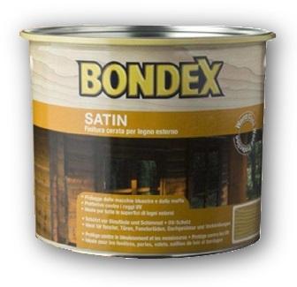 5 l Bondex Satin - teak 905, silnovrstvá syntetická lazura na dřevo