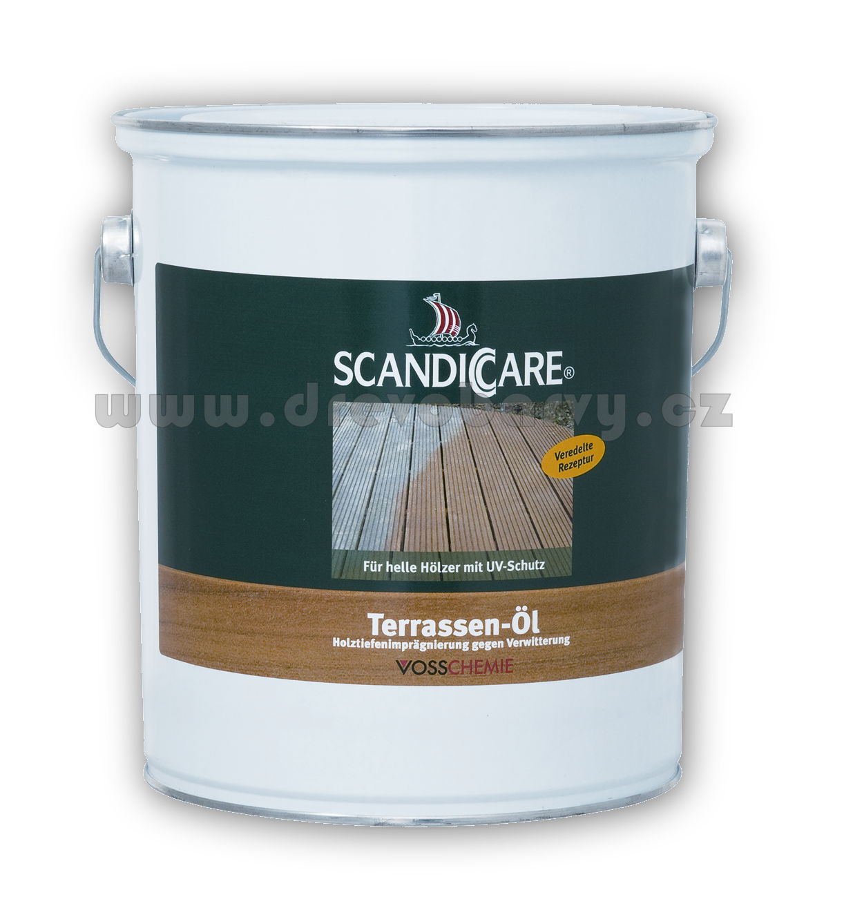 3 l Scandiccare terasový olej (TERRASSEN-ÖL) - AKCE