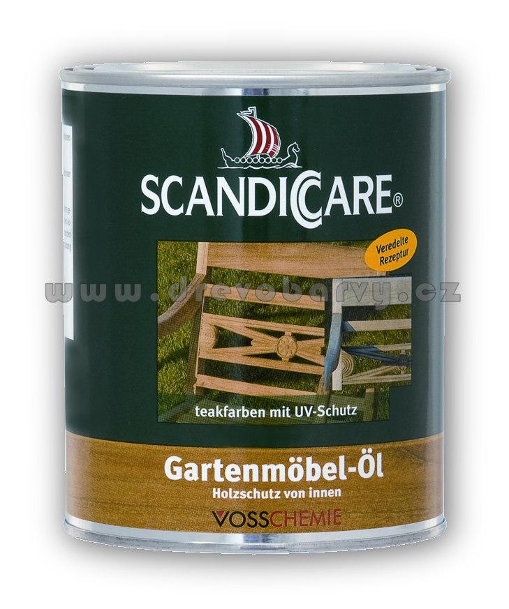 3 l Scandiccare Olej na zahradní nábytek (GARTENMÖBEL-ÖL) - AKCE